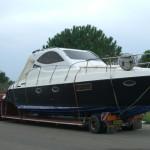 onda blu trasporto barca